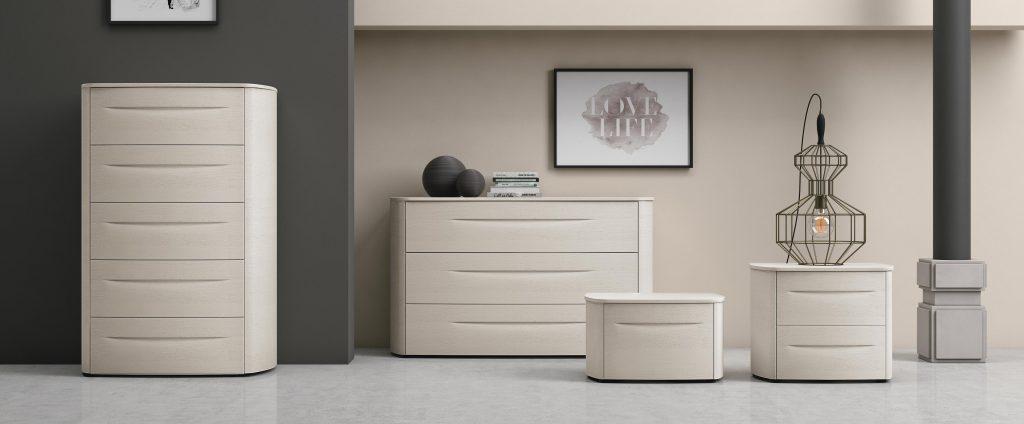 Mobili contenitori per la camera da letto bogart for Mobili per camera