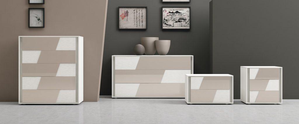 Mobili contenitori per la camera da letto kross franzese arredamenti - Contenitori camera da letto ...