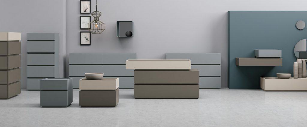Mobili contenitori per la camera da letto replay franzese arredamenti - Contenitori camera da letto ...