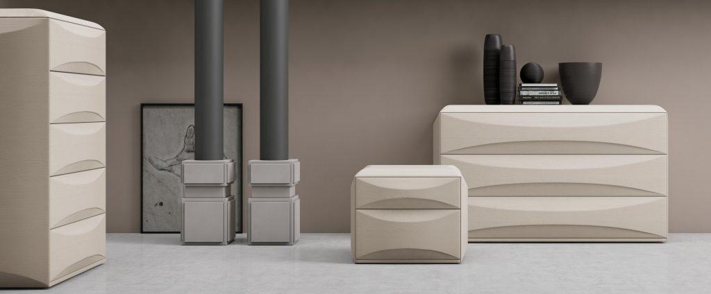 Mobili contenitori per la camera da letto sidney franzese arredamenti - Tinta per camera da letto ...