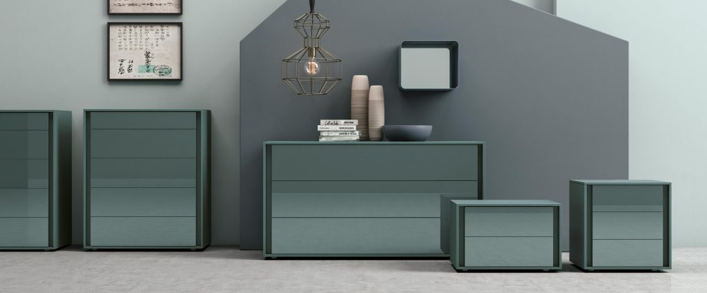 Mobili contenitori per la camera da letto vip cristal franzese arredamenti - Contenitori camera da letto ...