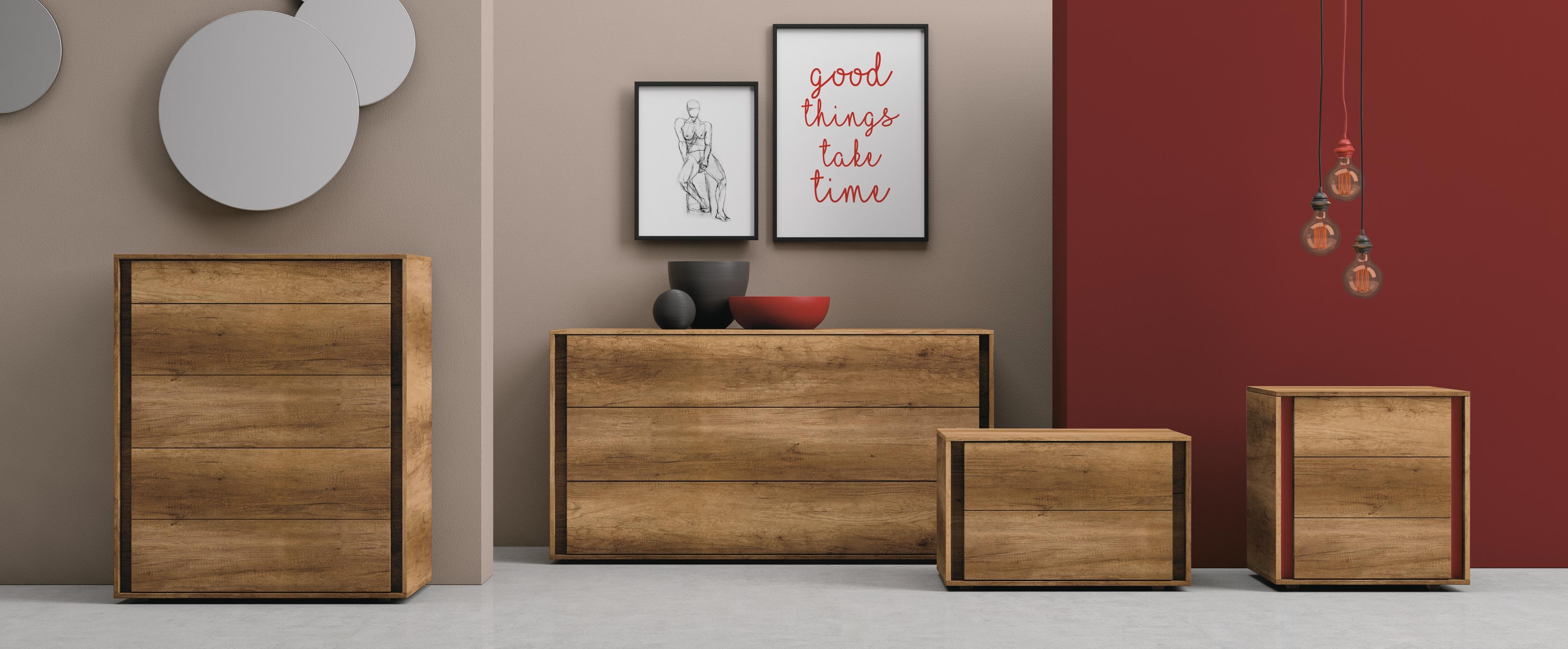 Mobili contenitori per la camera da letto vip franzese for Mobili per la camera