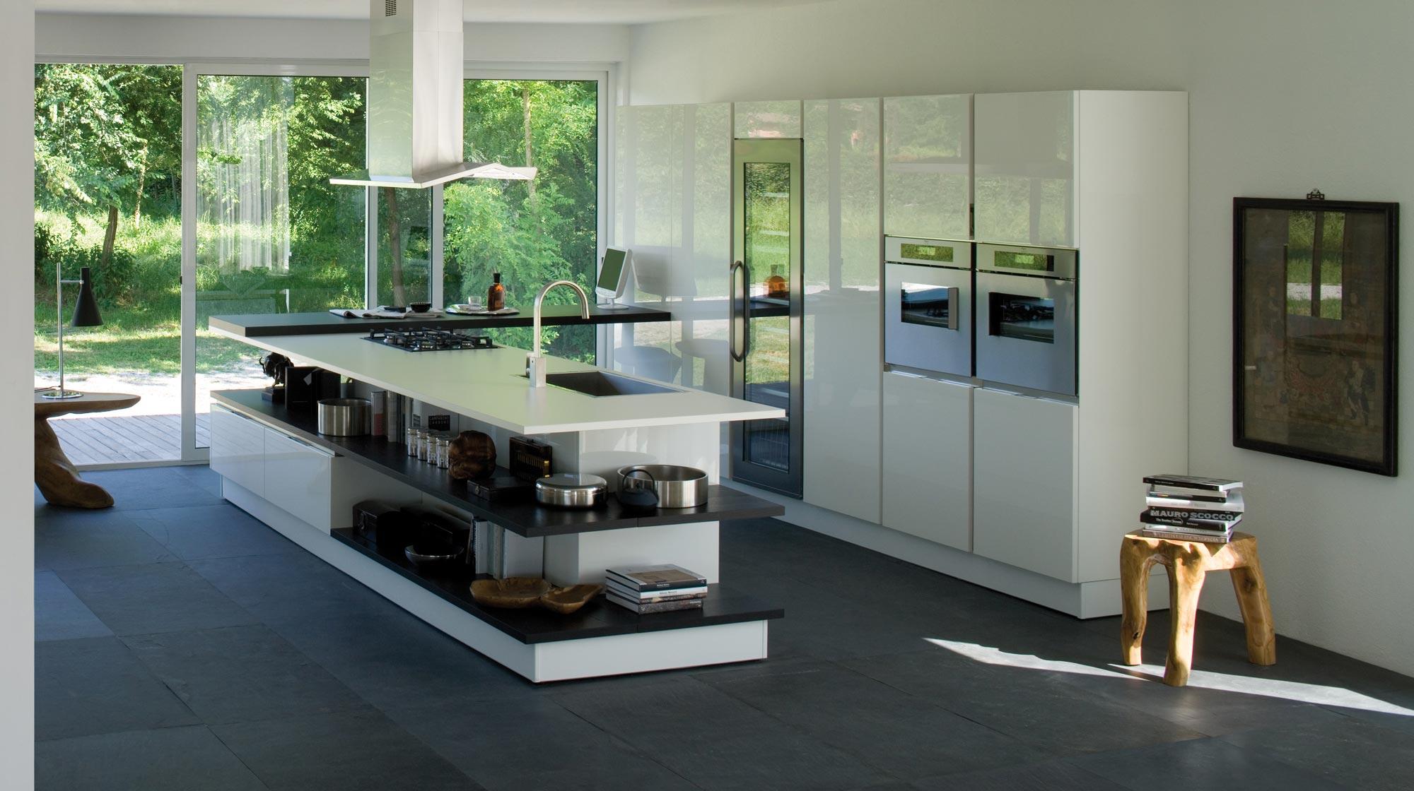 Beautiful Cucine Moderne Veneta Images - Farbideen fürs Wohnzimmer ...